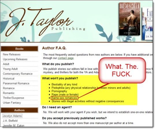 J. Taylor Publishing Author FAQ