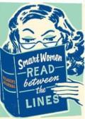 Smart Women Read Between The Lines
