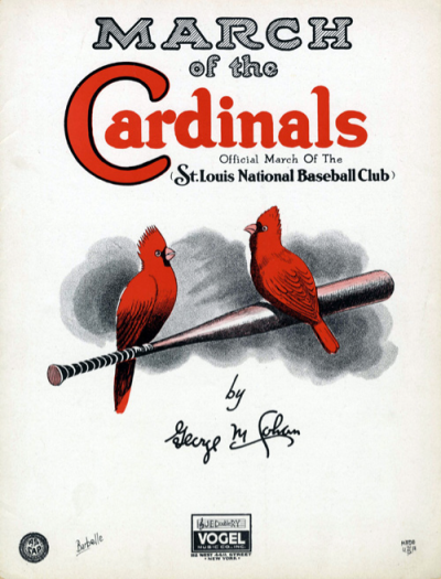 March of the Cardinals - vintage baseball sheet music