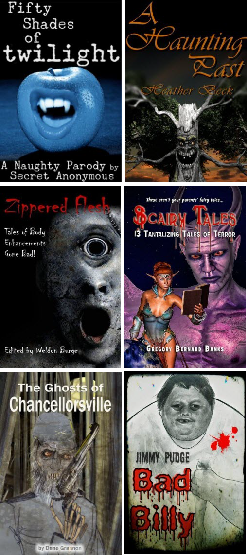 Creepy Book Covers