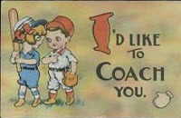 I'd Like to Coach You vintage valentine