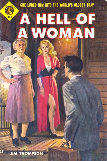 A Hell of a Woman vintage pulp romance novel