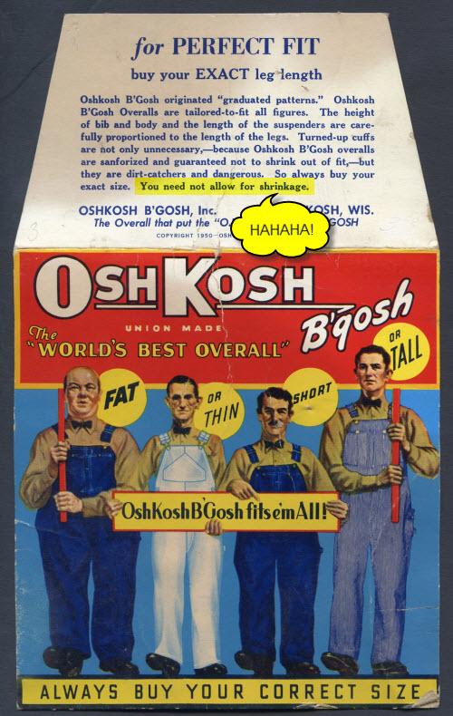 Oshkosh Fits Them All