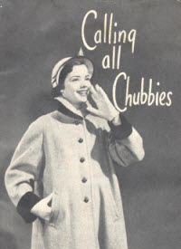 Calling All Chubbies - 1952 Lane Bryant Ad