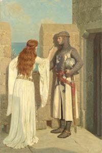 The Shadow by Edward Leighton, 1909