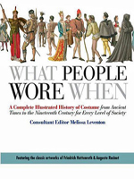 What People Wore When - Melissa Leventon (Editor)