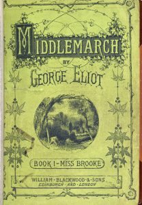 Middlemarch - Original Serial Cover