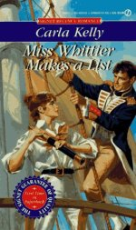 Miss Whittier Makes a List by Carla Kelly