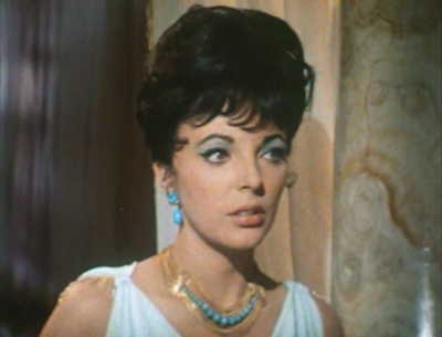 Joan Collins in Esther and the King, 1960